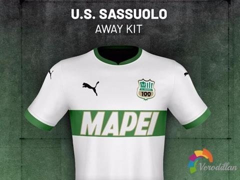 [设计近赏]萨索洛2020/21赛季主客场球衣