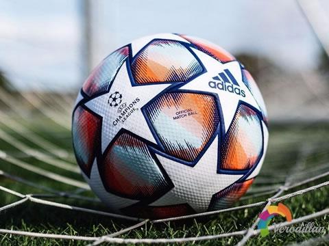 标志性星形拼接设计:2020/21赛季欧冠联赛官方比赛球