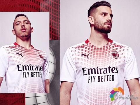 AC米兰2020/21赛季客场球衣,以米兰文化博物馆为灵感