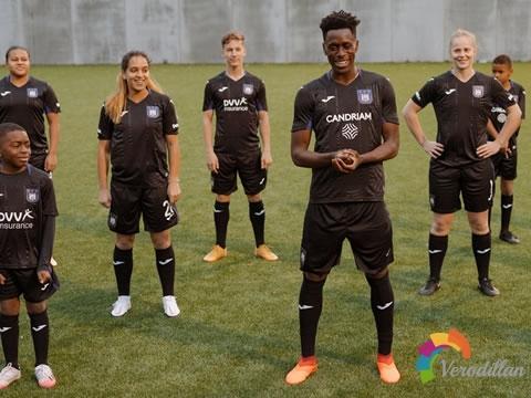 Joma发布安德莱赫特2020/21赛季第二客场球衣
