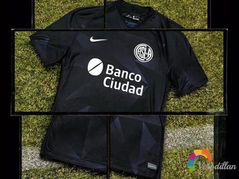 圣洛伦索2020/21赛季第二客场球衣,灵感源自乌鸦