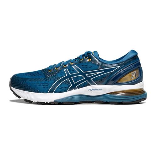亚瑟士1011A169 GEL-NIMBUS 21男子跑步鞋图1高清图片