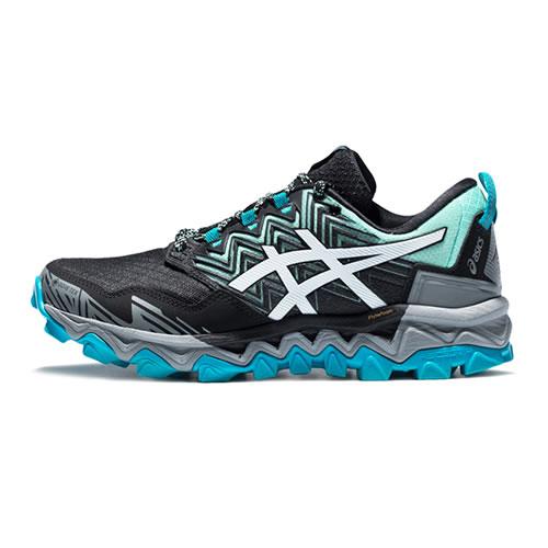 亚瑟士1012A573 GEL-FujiTrabuco 8 G-TX女子越野跑鞋