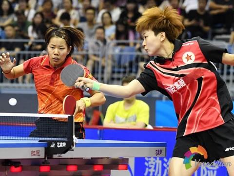 浅谈乒乓球双打技术的配对原则和形式