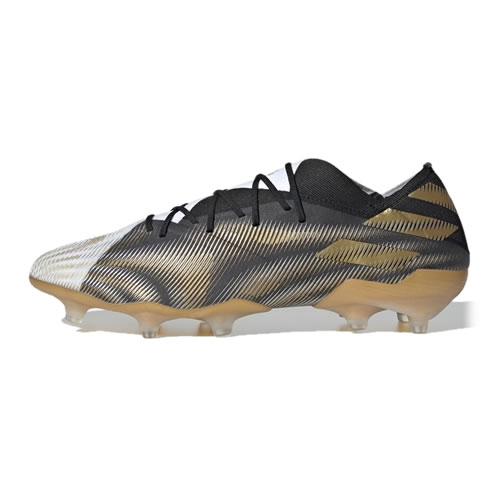 阿迪达斯EH0555 NEMEZIZ.1 FG男子足球鞋图1高清图片