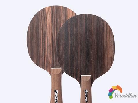 [测评]世奥得黑檀6,一块均衡而有特点的纯木拍