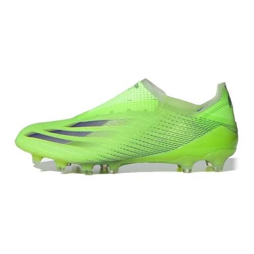 阿迪达斯FY2962 X GHOSTED+ AG男子足球鞋图1高清图片