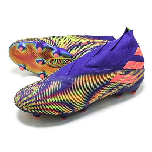 阿迪达斯EH0761 NEMEZIZ+ FG男子足球鞋图5