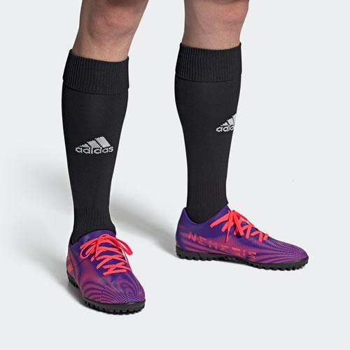 阿迪达斯EH0525 NEMEZIZ.4 TF男子足球鞋图6