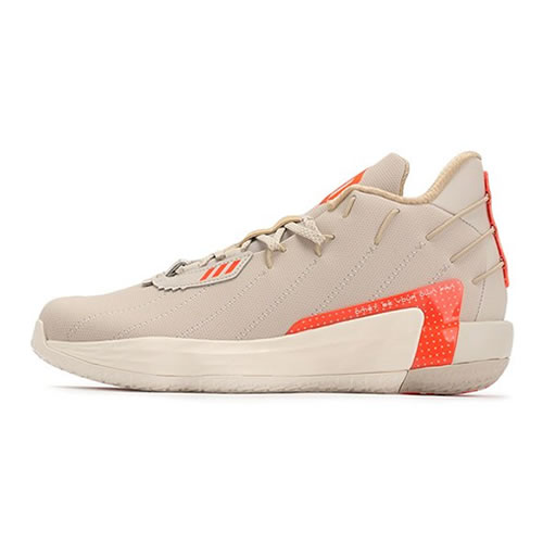 阿迪达斯FZ1095 Dame 7 GCA男子篮球鞋