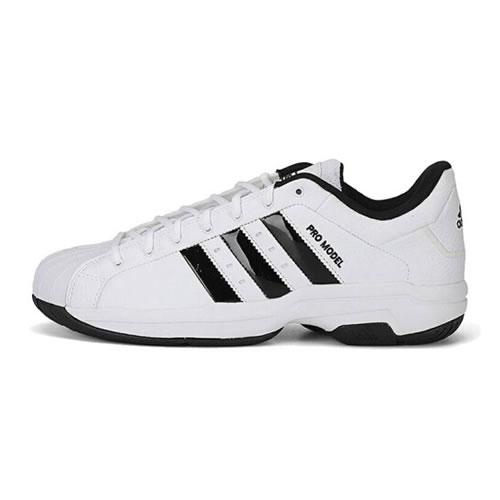 阿迪达斯FX4981 Pro Model 2G Low男子篮球鞋