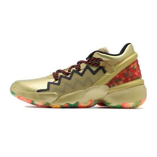 阿迪达斯FW9050 D.O.N.Issue 2 GCA男子篮球鞋