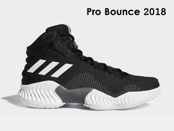 阿迪达斯Pro Bounce 2018篮球鞋型号价格(全部配色)