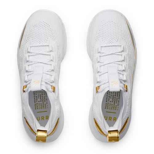 安德玛3024456 Curry 8 Golden(库里8代)男女篮球鞋图3高清图片