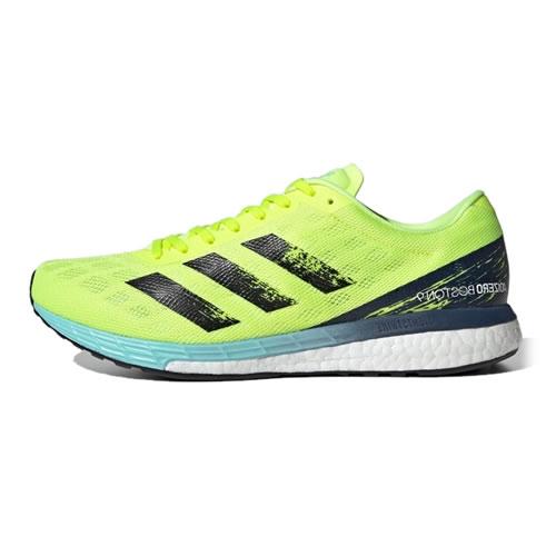 阿迪达斯H68740 ADIZERO BOSTON 9 M男子马拉松跑鞋图1高清图片