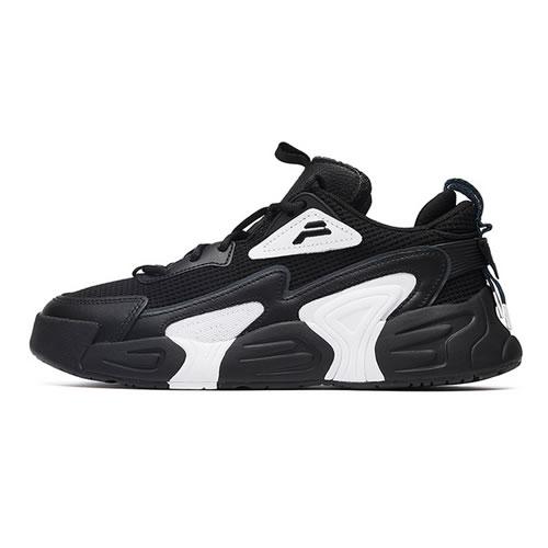 斐乐F12W034124F女子复古篮球鞋