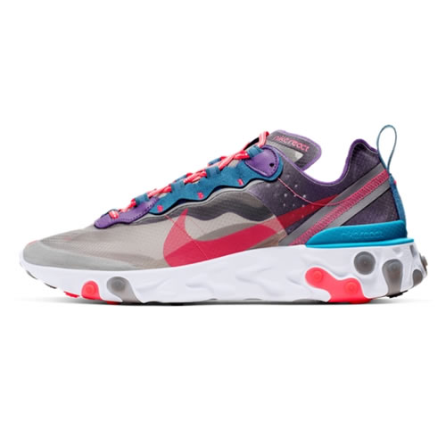 耐克CJ6897 REACT ELEMENT 87男子运动鞋