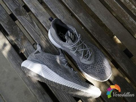 adidas Alpha BOUNCE EM潮流跑鞋上脚测评