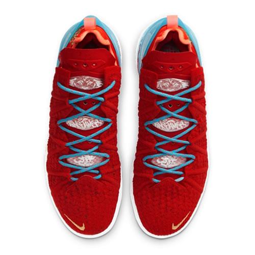 耐克CW3155 LEBRON XVIII EP男女篮球鞋图4高清图片