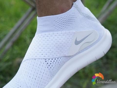 全绑带设计:Nike Free Run Motion上脚测评