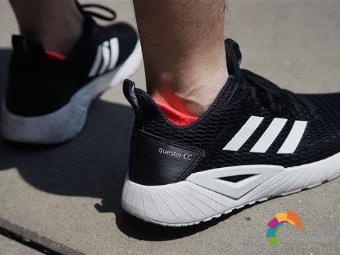 急速飞驰:adidas Questar CC上脚测评