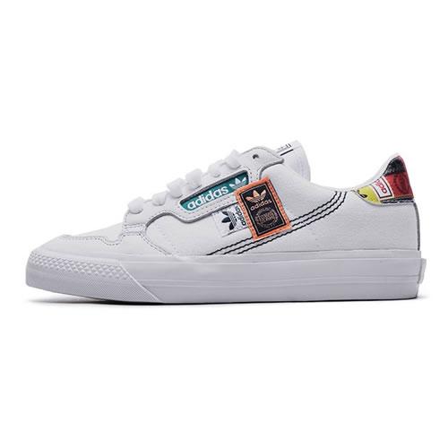 阿迪达斯FX3810 CONTINENTAL VULC男女运动鞋