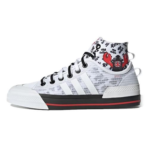 阿迪达斯GY5340 NIZZA HI DL男女运动鞋