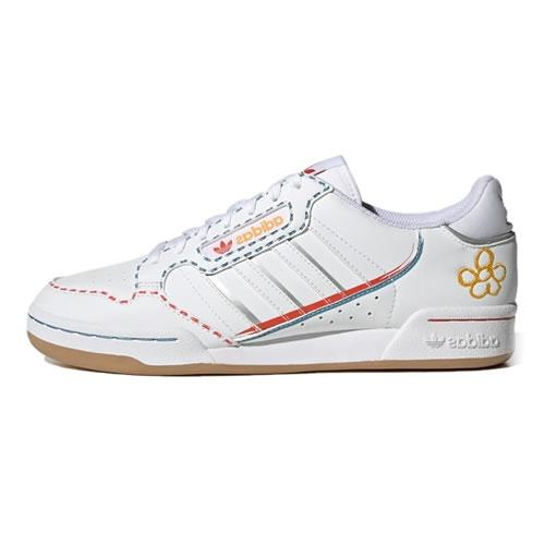 阿迪达斯GZ3044 CONTINENTAL 80 STRIPES男女运动鞋