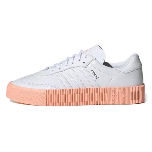 阿迪达斯GZ8615 SAMBAROSE W男女运动鞋