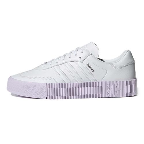 阿迪达斯GZ8616 SAMBAROSE W男女运动鞋