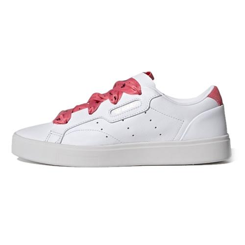 阿迪达斯FY6679 SLEEK W女子运动鞋