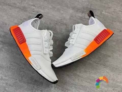 [设计解码]Adidas NMD R1白橙配色怎么样,值得入手