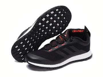 阿迪达斯黑色跑步鞋图片大全(高清图集)